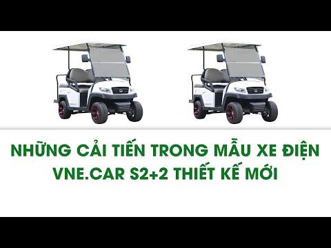 Ô tô điện sân Golf Tùng Lâm VNE.CAR S2+2