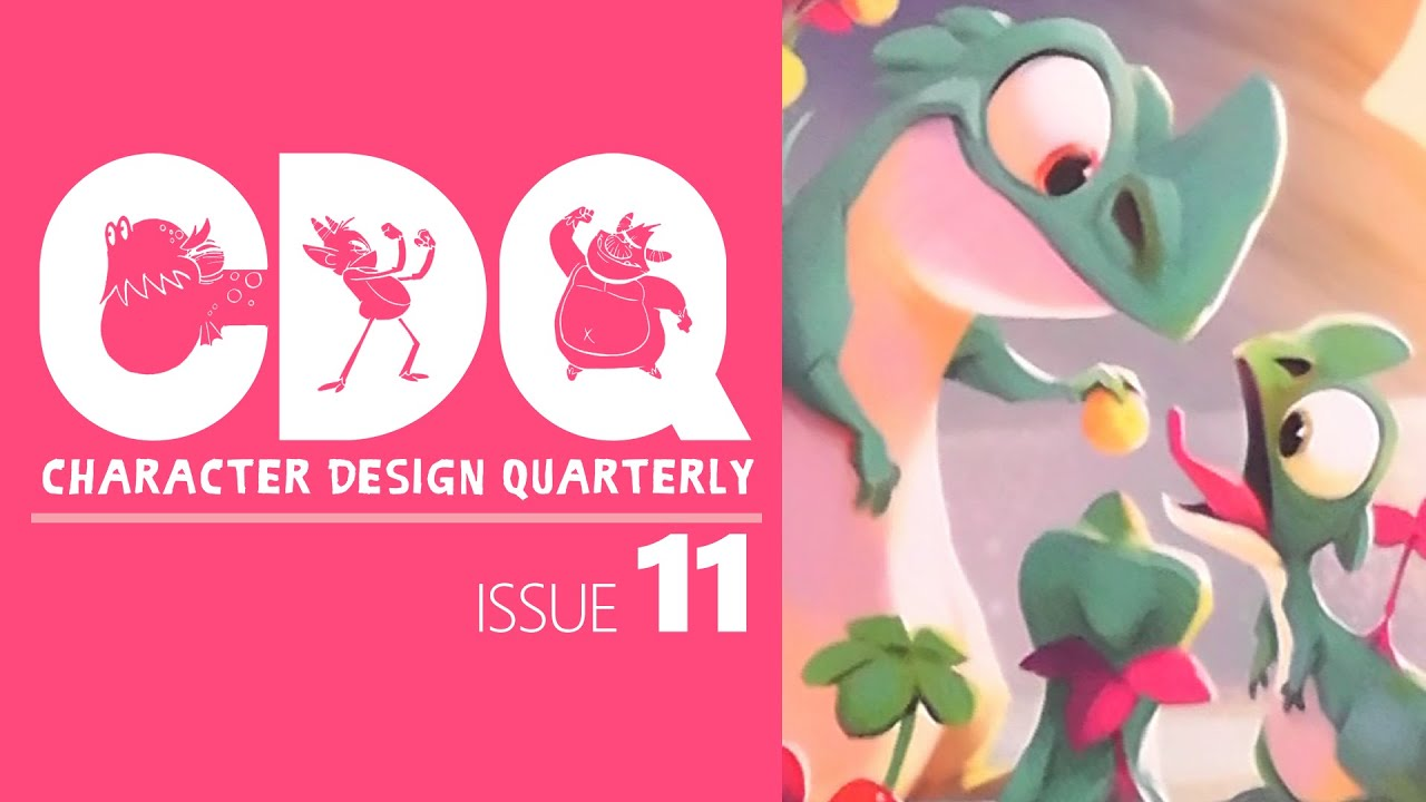 Cdq Character Design Quarterly Magazine Issue 11 By 3dtotal