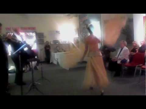 "Kristen Minsky at ""A Night of Burlesque"" West End Museum, Boston, April 20, 2012"