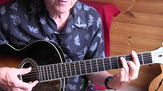 leon redbone lesson  -so relax-  free tab