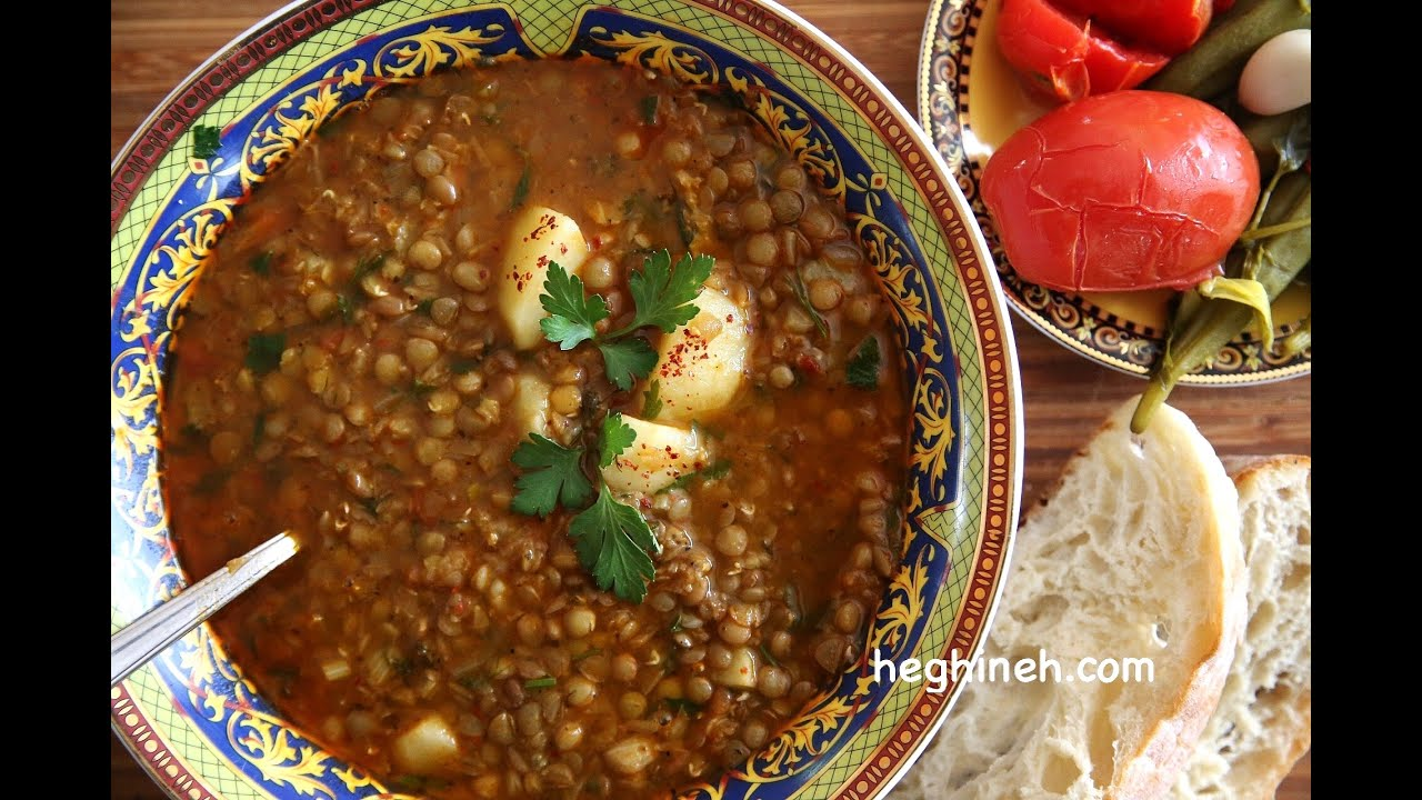 Lentil soup recipe armenian cuisine heghineh cooking show youtube forumfinder Choice Image
