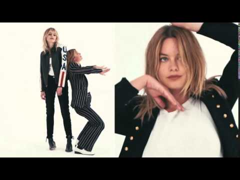 Camille Rowe & Staz Lindes for Vogue