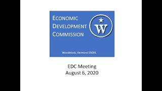 Woodstock EDC Meeting - August 6, 2020