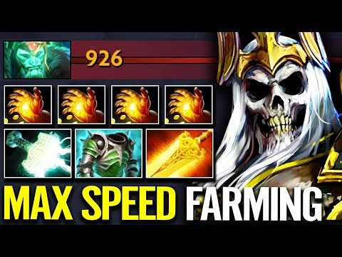 MIRACLE Wraith King 1st Item Hand of Midas 900+ GPM Max Farming Dota 2