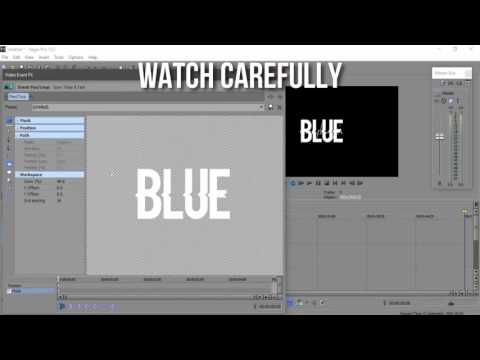 Full download sony vegas pro text effect for Sony vegas effects download