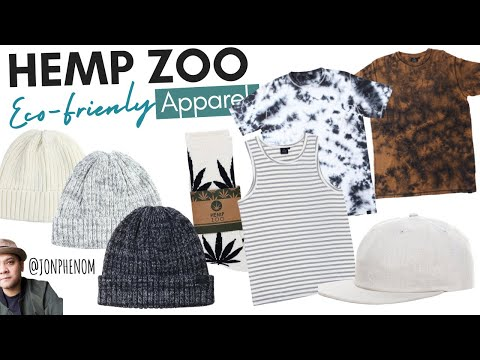 Hemp Zoo unboxing | Eco-Friendly Brand & Blank Apparel