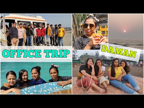 Office Friends Trip to DAMAN | One Day Picnic Before Lockdow