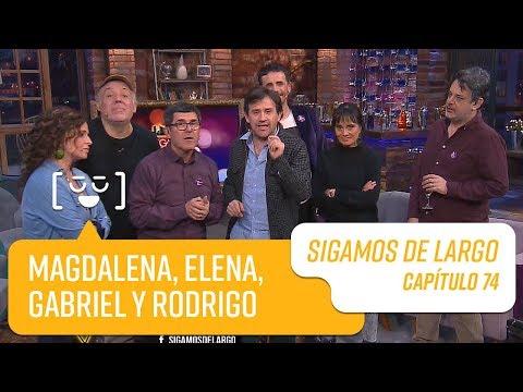 Capítulo 74: Magdalena Max-Neef, Elena Muñoz, Gabriel Y Prieto Y Rodrigo Bastidas | Sigamos De Largo