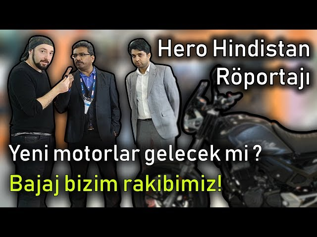 Hero Hindistan ne planlıyor ? Röportaj | 2019 Motosiklet Fuarı