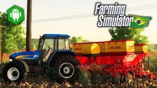 INCRÍVEL! Novo Farming Simulator Brasileiro para Android e PC - Brazilian Farming Simulator