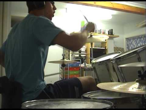 Letter to my son/Your visits getting shorter - Bloc Party drum cover by trout