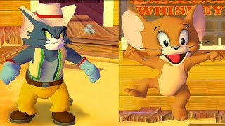Tom and Jerry in War of the Whiskers - Tom vs Jerr...