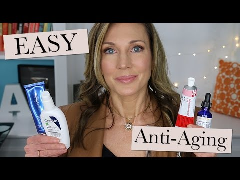 Quick & Easy Anti-Aging Skincare Routine - The Essentials!
