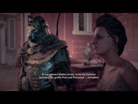 PS4  Live - Assassin's Creed Origins - Alexandria #003