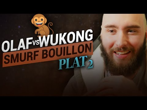 Vidéo d'Alderiate : ALDERIATE & AKABANE - SMURFING BOUILLON - OLAF VS WUKONG - IL A FAILLI ME TUER LVL 1 WTF