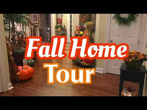 Fall Home Tour    Hosted by Devada Lane    Living Room    Foyer