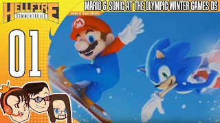 Mario & Sonic at the Olympic Winter Games DS (Story) playthrough [Part 1: Holiday Wishes]