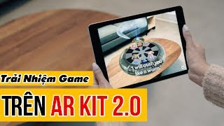Trải Nhiệm AR KIT 2.0 Trên iOS 12 Chính Thức | Truesmart
