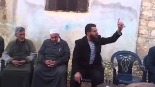 Hizb-ut Tahrir Şebabı, Suriye'deki Şehit Ailelerine Tebrik Ziyaretlerinde Bulunuyor
