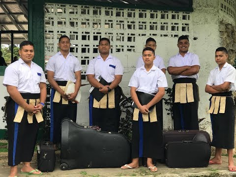 Tonga Secondary School Brass Band Festival - Solo Competition