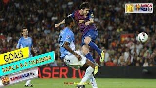 ... goals: fabregas, xavi, villa x 3, messi 3 visit our fb page: www.facebook.com/barcavideos.tv