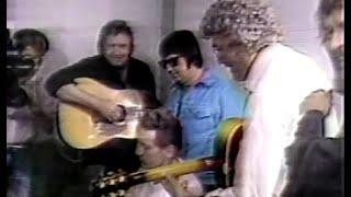 NBC News on Million Dollar Quartet Reunion, September 17, 1985