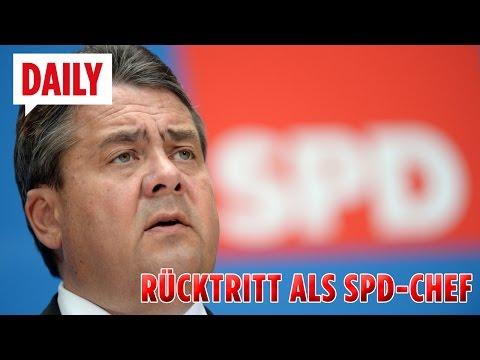 Sigmar Gabriel tritt als SPD-Chef zurück! BILD-Daily live - 24.01.17