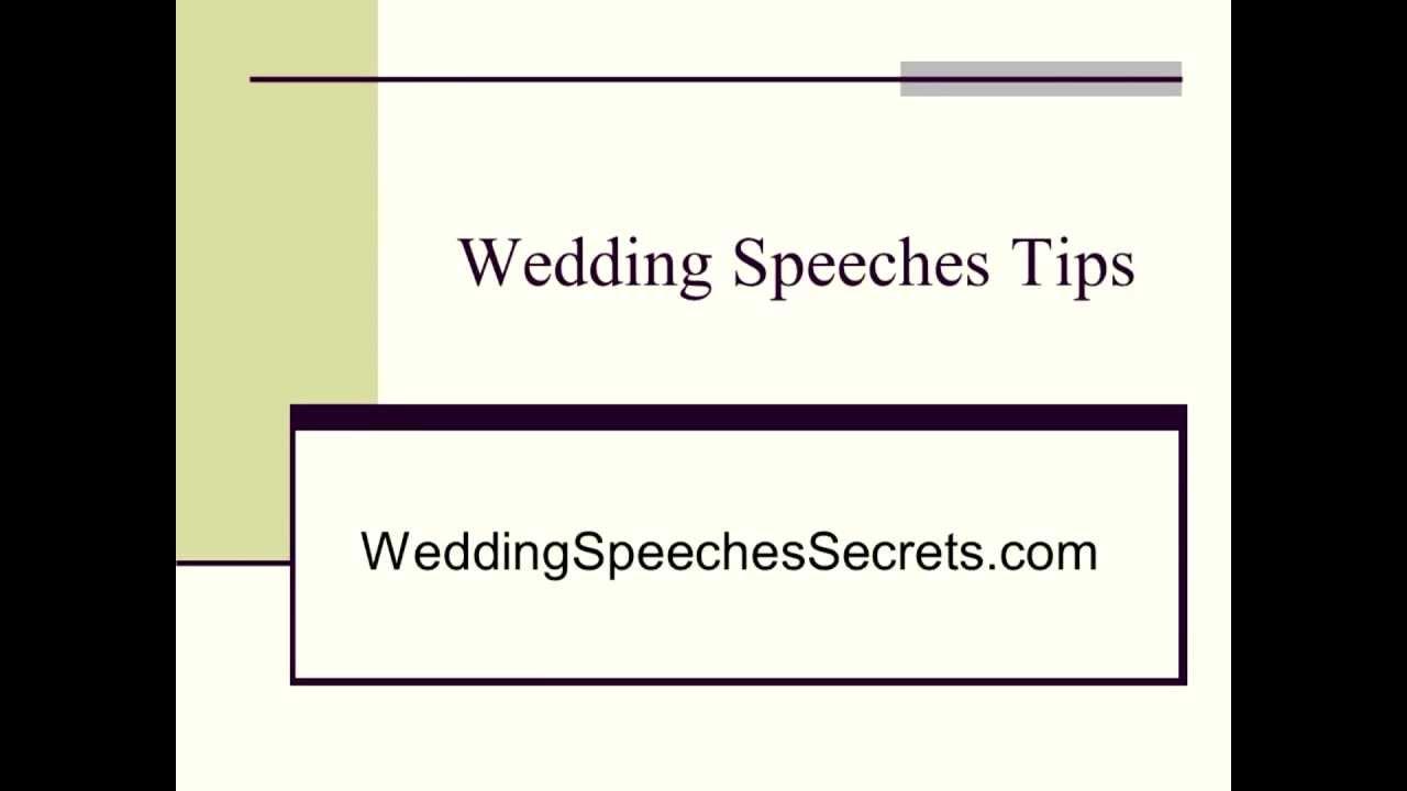 How to write tribute speech