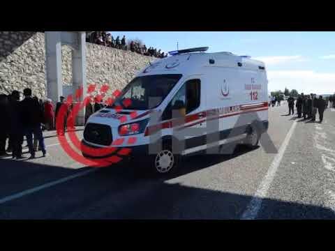 Adıyaman'da feci kaza : 1 ölü, 4 ağır yaralı