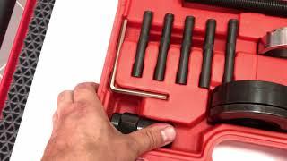 Видео-обзор Набор для демонтажа ступичных подшипников VW T5 Transporter 85 мм СП-1033 ALLOID