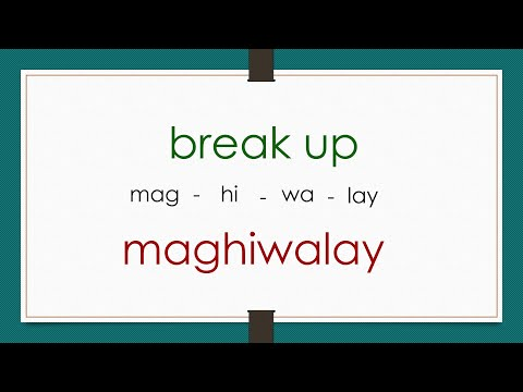 55 English Tagalog Frequently Used Phrasal Verbs # 118