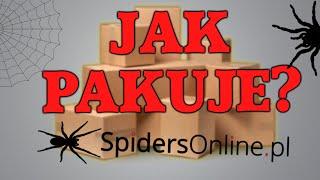 JAK PAKUJE SPIDERSONLINE.PL? *ZIMNY HEATPACK? (Unboxing #2)