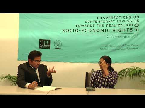 Conversations   Dr. Ashima Sood   THE REALISATION OF SOCIO-ECONOMIC RIGHTS