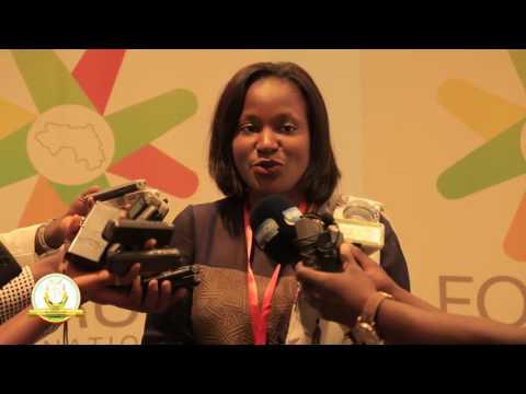 FOMUERI - Intervention de Aïssata Béavogui Directrice Générale de Guinea Alumina Corporation