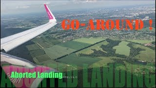 Late Aborted Landing followed by Full power thrust acceleration