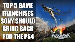 Top 5 Game Franchises Sony Should Bring Back For The PS4