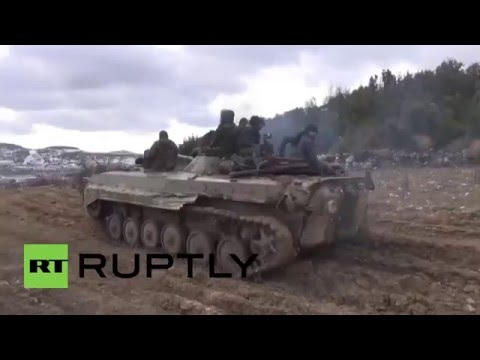 Syria: Syrian Army takes key militant positions in Latakia