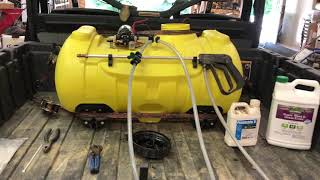 SPRAYER SET UP AND TIPS...