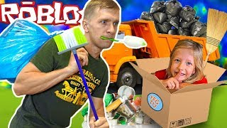 To purge the city of garbage in ROBLOX or Simulator SCAVENGER from FFGTV new adventures