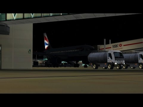 [P3D] Full flight ✈️ A319 ✈️ SHT3K ✈️ Manchester - London Heathrow [BEST LANDING YET!!]