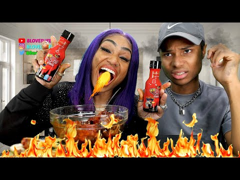 4X Spicy 15 Wing Challenge With Darius (Hilarious)