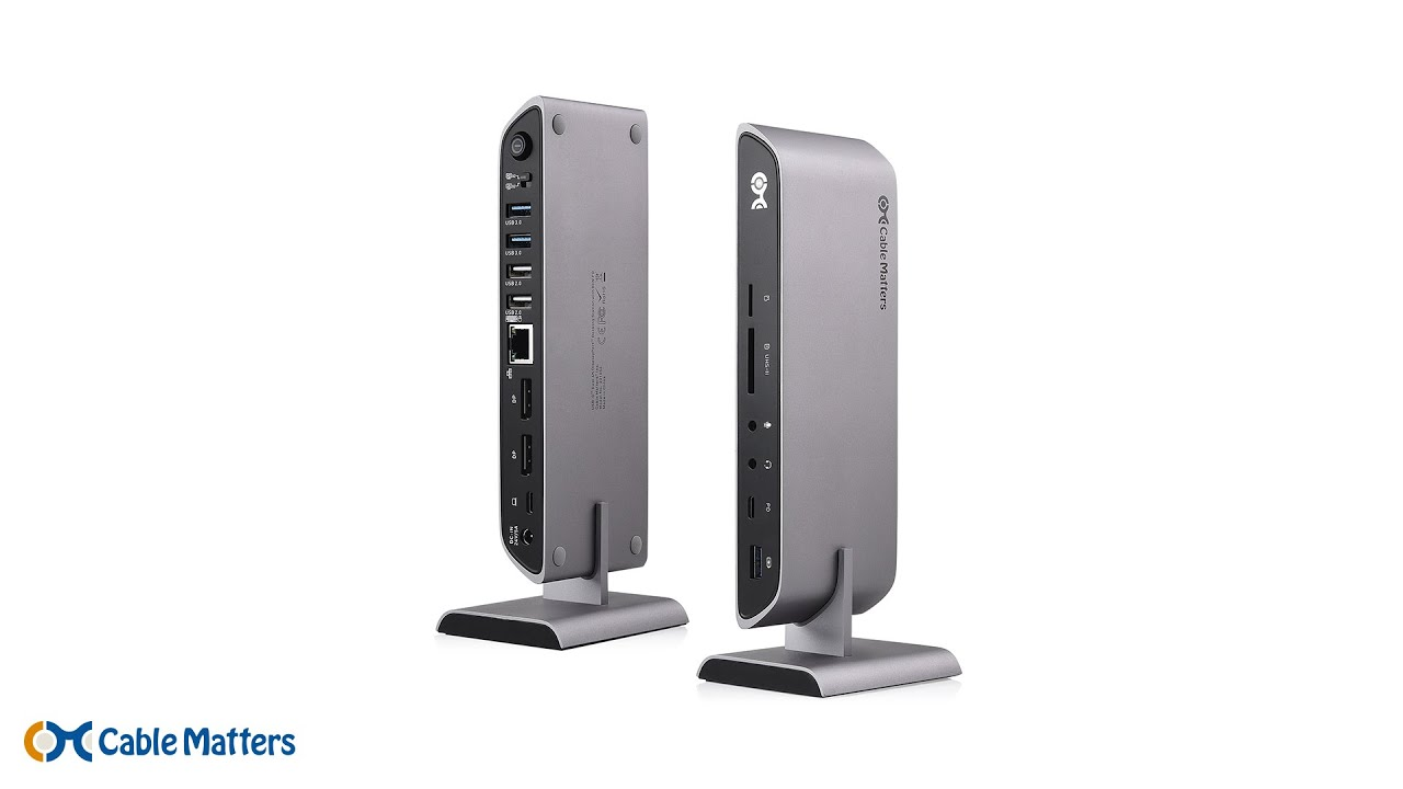 USB-C Docking Stations - Thunderbolt 3 Compatible | Cable