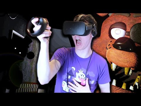 I BEAT IT!!! (HUGE SURPRISE AT THE END)|| Five Nights at Freddy's VR thumbnail