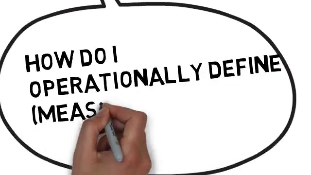 operational definition youtube