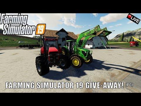 {NL} 'FARMING SIMULATOR 19 GIVE AWAY (PC)' Farming Simulator 19 Felsbrunn {G29}