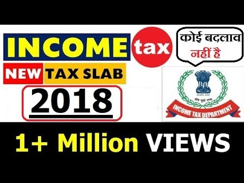 INCOME TAX SLAB 2018 | Calculation Method Explained