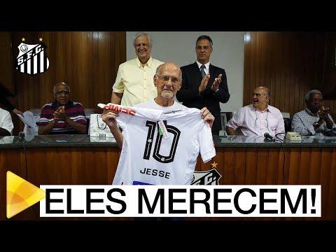 Santos FC homenageia Sócios Rei mais antigos do Programa