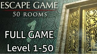 Escape Game 50 Rooms 1 Full Game Level 1-50 Walkthrough