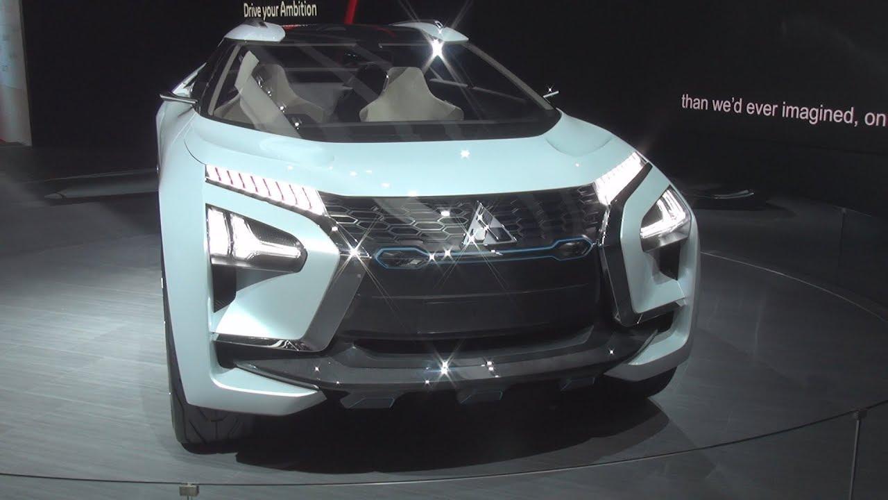 Mitsubishi E Evolution Concept 2018 Exterior And Interior Youtube
