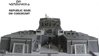 LEGO Star Wars: Republic base on Coruscant MOC